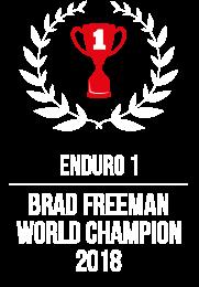 Brad Freeman Enduro 1 World Champion 2018