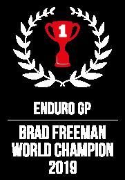 brad freeman world champion 2019