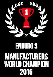 enduro 3 world champion 2016