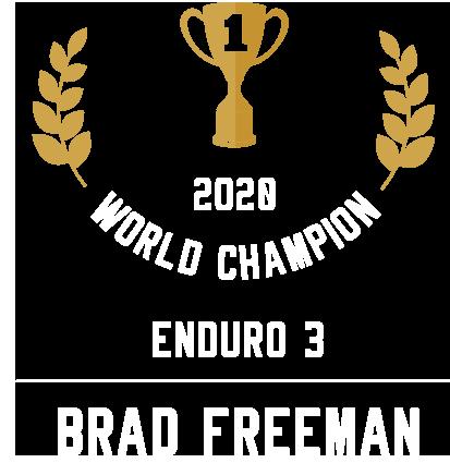Freeman Enduro 3 World champion